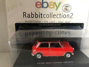"""Die Cast """" Authi Mini Cooper 1300 1973 """" Scale 1/24"""