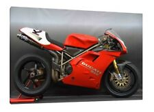 DUCATI 916 30x20 pulgadas lienzo enmarcado cuadro impresión arte cartel Superbike