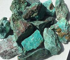 Chrysocolla Rough Natural 25/35mm Throat Heart Chakras Communication
