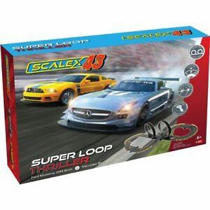 Scalextric 43 Super Loop Thriller Slot car set