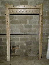 ~ Antique Carved Walnut Door Or Window Molding ~ 62 X 100 ~ Architectural ~