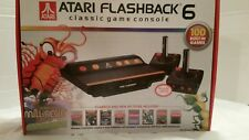 Atari Plug 'n Play Flashback 6 Classic Game Console w/ Built-in 100 Games NEW