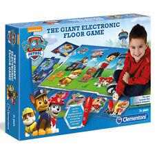 Clementoni Paw Patrol Giant Electronic Floor Game Boys NEW