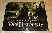 Van Helsing movie poster (UK Quad) - Hugh Jackman, Kate Beckinsale