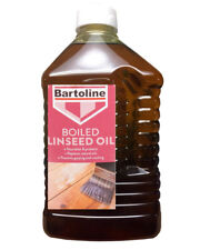 Bartoline Boiled Linseed Oil 2 Litre Gives A Sheen Use Internally or Externally