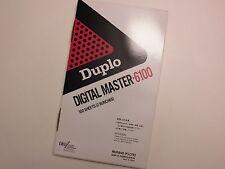 Duplo Digital Master 6100 Casette Pins Bögen