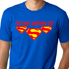 The best Superman is? routh vs Reeve vs cavill cape suit steel fly Funny T-Shirt