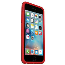 Genuine OTTERBOX Symmetry Dropproof Case Cover for iPhone 6s & 6 Clear Red