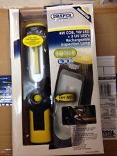Draper 4 W LED COB Lámpara Luz de trabajo Inalámbrico UV Antorcha de Inspección Recargable