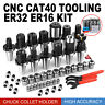 CAT 40 Tooling Kit for Haas Fadal CNC Mill-ER Chuck Collet Holder ER32/16 New