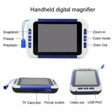 3.5'' Portable LCD Digital Video Magnifier Low Vision Read Aid Magnifier 2X-32X