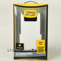 OtterBox Commuter Hard Shell Case Snap Cover For Motorola Droid Mini White Gray