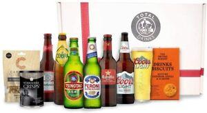 World Beer Gift Box, Peroni, Tsingtao, Budweiser, Cobra, Estrella, Coors Light