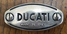 Ducati Motorcycles Clutch Inspection Cover Sterling Silver Belt Buckle