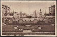 AX3874 Milano 1931 - Piazza Giulio Cesare - Cartolina postale - Postcard