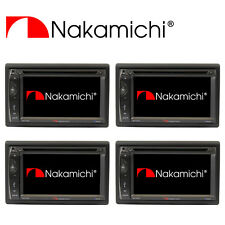 "Wholesale Lot (4) NAKAMICHI 2 Din 6.2"" HD Screen Car DVD Bluetooth Player NA1200"