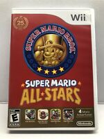 Super Mario All-Stars (Nintendo Wii) Complete w/ Manual - Tested Working