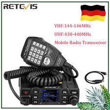 Retevis RT95 Mobilgerät Car Dualband Amateurfunk Ham Radio 25W 200 Kanäle DTMF