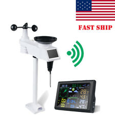 WiFi Weather Station Wireless Weather Station Forecast Temperature Monitor Fda