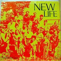 New Life - New Life LP VG+ Wg 7201 Private MI Christian Folk Rock 1972 Record
