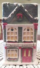 Yankee Candle Store CANDLE SHOPPE Tart Burner With 3 Tarts Tealights Retired New