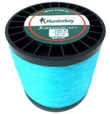 Hunterboy Maxforce Super Nylon 1000m 80lb Electric Blue Game Fishing Line 37kg