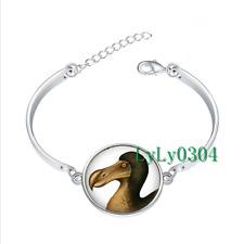 Dod Bird - Dodo glass cabochon Tibet silver bangle bracelets wholesale
