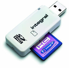 Integral INCRSDNRP Secure Digital SDHC XC Memory Card USB Reader Adaptor New