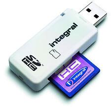 Integral incrsdnrp Secure Digital Lector USB de tarjeta de memoria SDHC XC Adaptador Nuevo