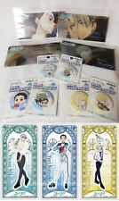 Yuri On Ice can badge & Clear file & Sticker Complete SET Rare Not for sale
