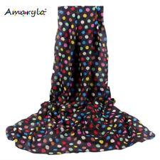 Foulard écharpe mousseline Envolée de pois - Multicolore