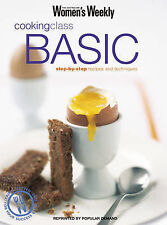 Women's Weekly Cooking Class Basic Cookbook Large Paperback