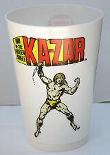 KA-ZAR LORD of JUNGLE MARVEL SUPER HEROES 7-11 CUP 1975