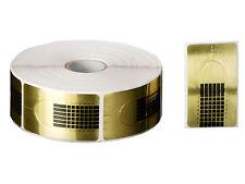 100 Nagelschablonen Modellierschablonen Gold Nagelmodellage Schablonen Gel Acryl