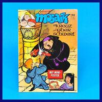 Mosaik Abrafaxe 194 Februar 2/1992 DDR Comic Zeitschrift Digedags-Nachfolger