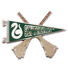 Wizarding World Of Harry Potter Slytherin Quidditch Metal Trading Pin