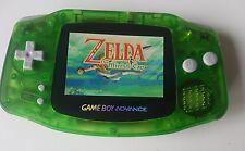 Nintendo Gameboy Advance Console Chiaro Verde retroilluminazione AGS 101-NUOVA lente in vetro
