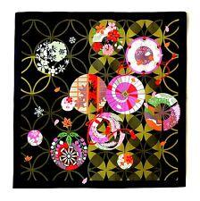 Shippo Floral Japanese Cotton Furoshiki Wrapping Cloth TB10
