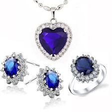 Saphir Jewelry Set