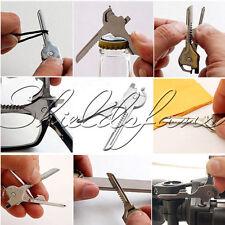 SWISS TECH Utili-Key 6 in 1 Key Ring Chain Multi-Tool Pocket Knife Screwdriver