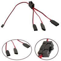 One to Three Switch Cable Y Line with Switch Kit für TRX-4 SCX10 RC Crawler Car