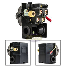 Air Compressor Pressure Switch Control 140-175 PSI 4 Port w/ Unloader
