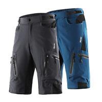 Lixada Arsuxeo Men's Cycling MTB Bike Bicycle Cycling Baggy Shorts Pants NEW