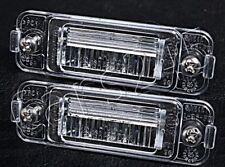 Genuine MERCEDES ML-Class W163 Facelift 01-05 License Plate Light Lenses x2 Pair