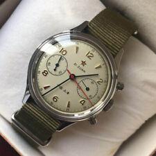 Rare seagull vintage 1963 pilot watch chronograph handwound movt ST19 38 mm