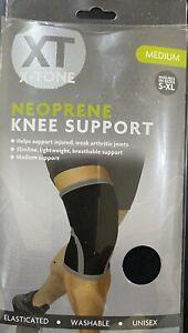 XT X-tone Neoprene Knee Elbow Support Medium Large Elasticated Knee Support UK