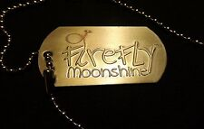 Firefly Moonshine Vodka Dog Tag - Logo Tag on a chain...NEW