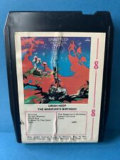 8 track - Uriah Heep - The Magician's Birthday (serviced and play-tested)