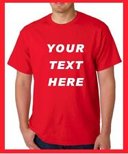 BUY Custom Personalized T Shirts -print your TEXT, camisetas, short sleeve