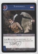 2007 VS System Marvel Legends Booster Pack Base #MVL-050 Turnabout Card 3v2
